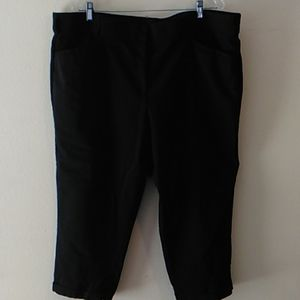 Lane Bryant Modernist Cuffed Capri Pants